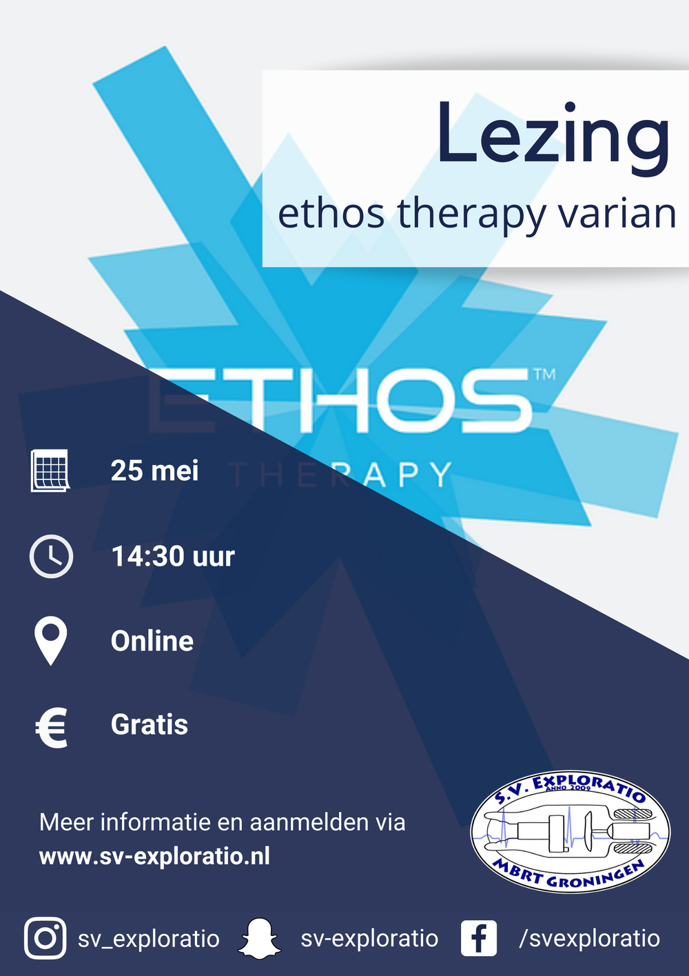 Lezing: Ethos therapy varian